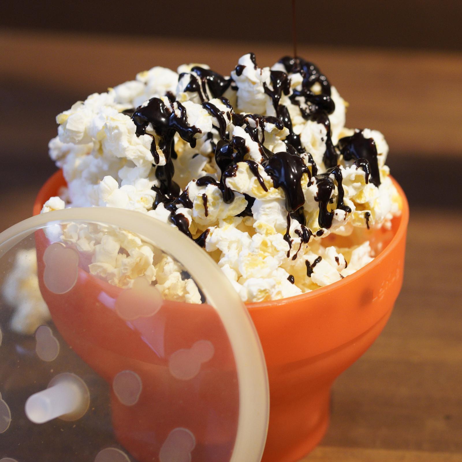 ポップコーン チョコレートソース